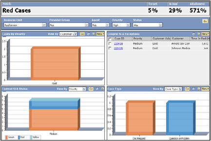 Oracle/PeopleSoft Enterprise Service Dashboard (Small)