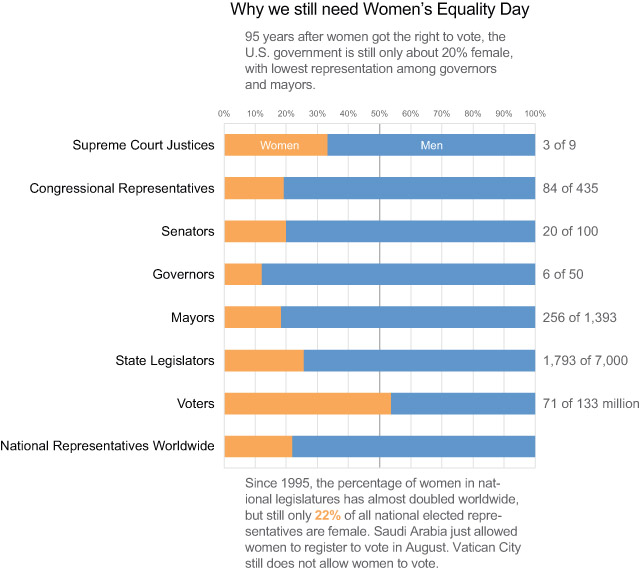 Women's Equality Day Infographic - Redesigned