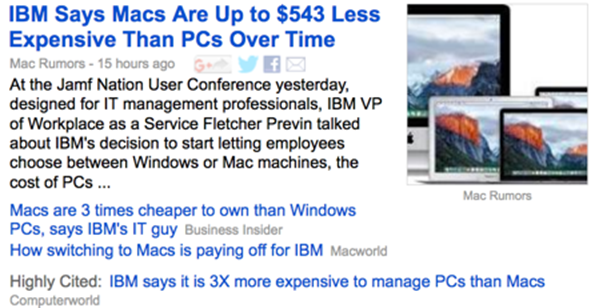 Mac Management Cost Headline